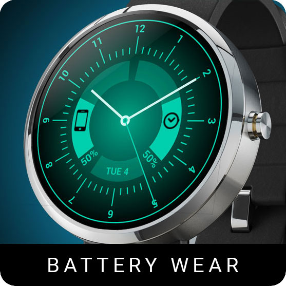 Battery Wear Watch Face