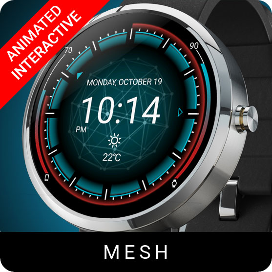 Mesh Watch Face