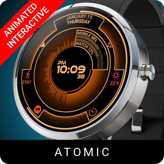 Atomic Watch Face