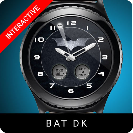 Batman Dk Watch Face for Samsung Gear S2 / Gear S3 / Galaxy Watch