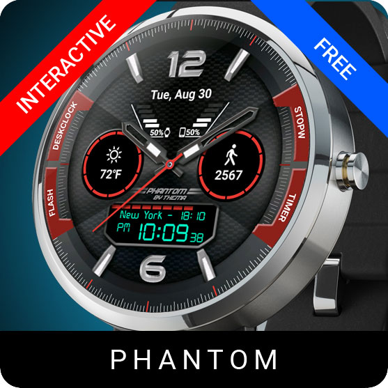 Phantom Watch Face