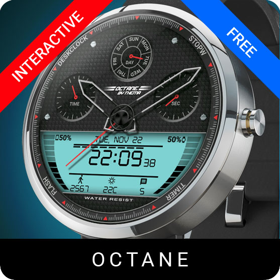 Octane Watch Face