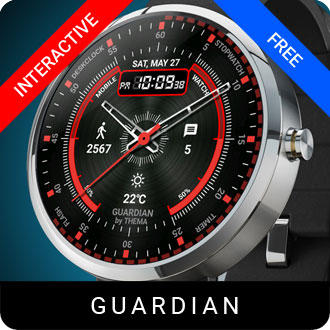 Guardian Watch Face