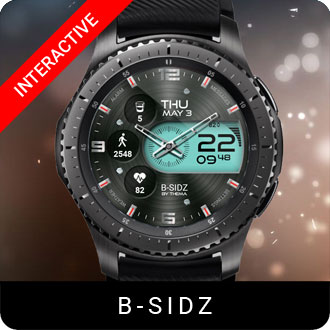 B-Sidz Watch Face for Samsung Gear S2 / Gear S3 / Galaxy Watch