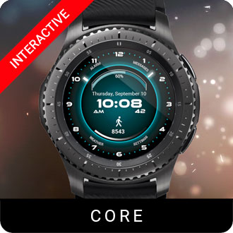 Core Watch Face for Samsung Gear S2 / Gear S3 / Galaxy Watch