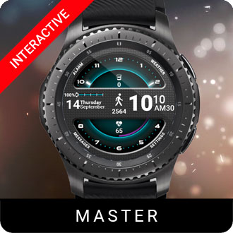 Master Watch Face for Samsung Gear S2 / Gear S3 / Galaxy Watch