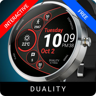 Duality Watch Face