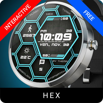 Hex Watch Face