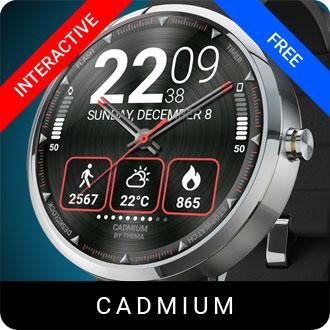Cadmium Watch Face
