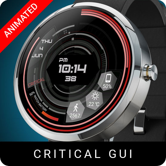 Critical Gui Watch Face