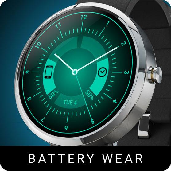 Battery Wear Watch Face