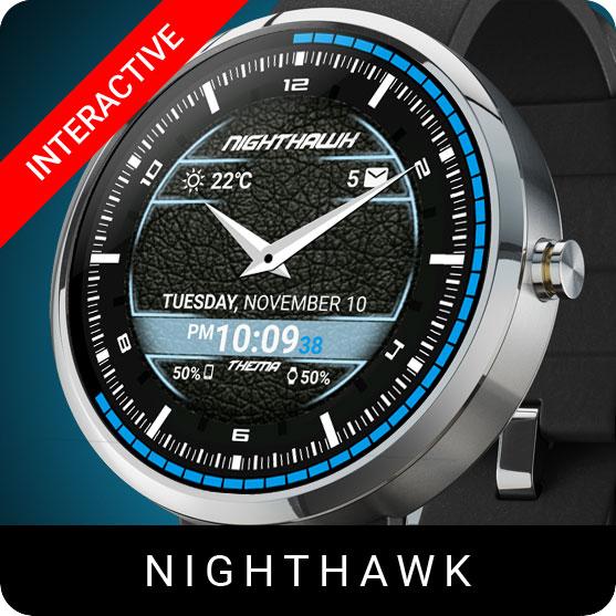 NightHawk Watch Face