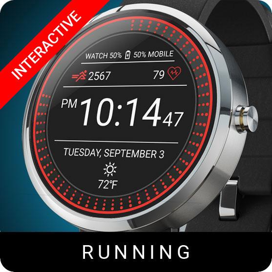 Running Watch Face