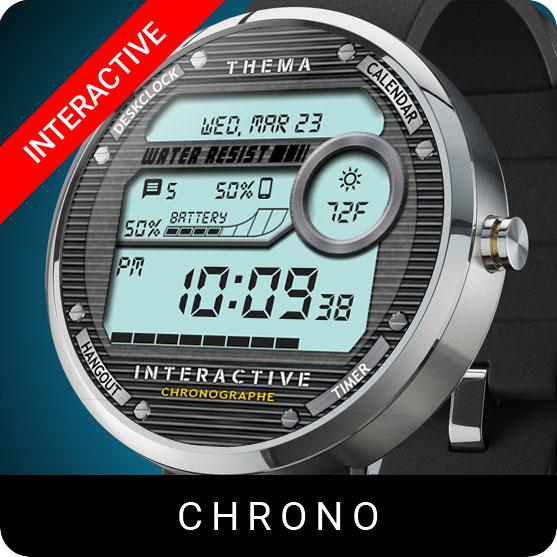 Chrono Watch Face
