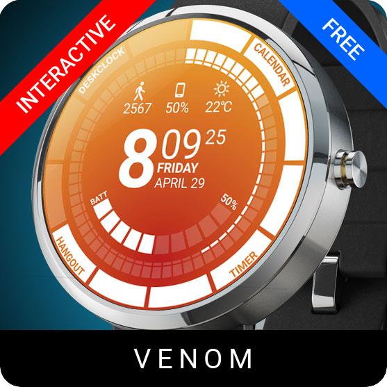 Venom Watch Face