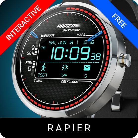 Rapier Watch Face