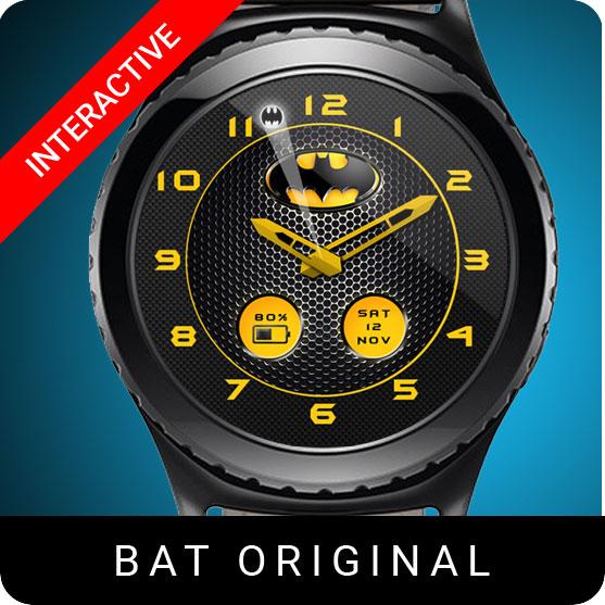 Batman Original Watch Face for Samsung Gear S2 / Gear S3 / Galaxy Watch