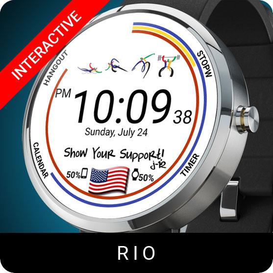 Rio Watch Face