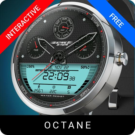 Octane Watch Face