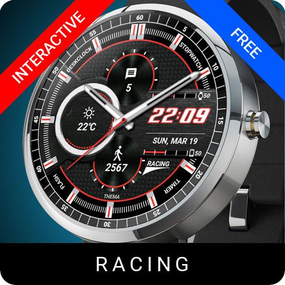 Racing Watch Face