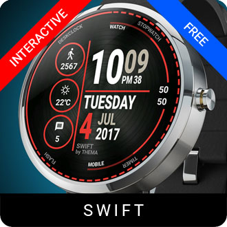 Swift Watch Face