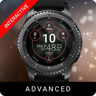 Advanced Watch Face for Samsung Gear S2 / Gear S3 / Galaxy Watch