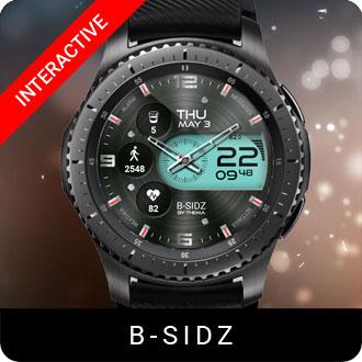 B-Sidz Watch Face for Samsung Gear S2 / Gear S3 / Galaxy Watch