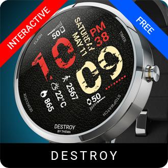 Destroy Watch Face