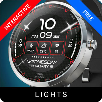 Lights Watch Face