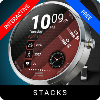 Stacks Watch Face